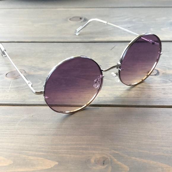 e438c500d4 Accessories - Round purple obre tinted hippie sunglasses